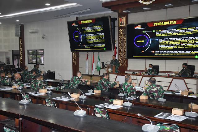 20  Kodim Jajaran TNI AD Siap Terima KKL Binsat