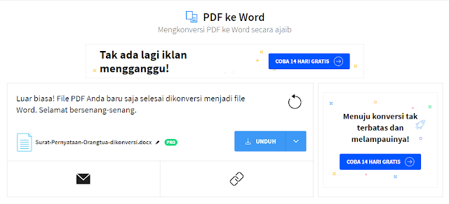 Cara Mengubah File Pdf ke Word