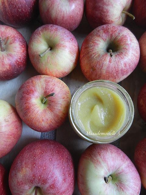 Recette de petit pot pour bébé : Compote Pomme - Poire - Reine Claude