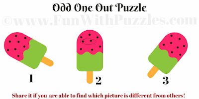 Answer to Odd One Out Puzzle