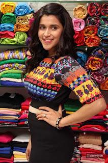 Mannara Chopra Stills at Kaira Launches Designer Festive Collection