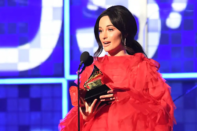 Kacey Musgraves at 2019 Grammy Awards