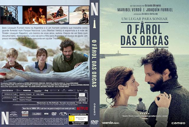 Capa DVD O Farol das Orcas [Custom]
