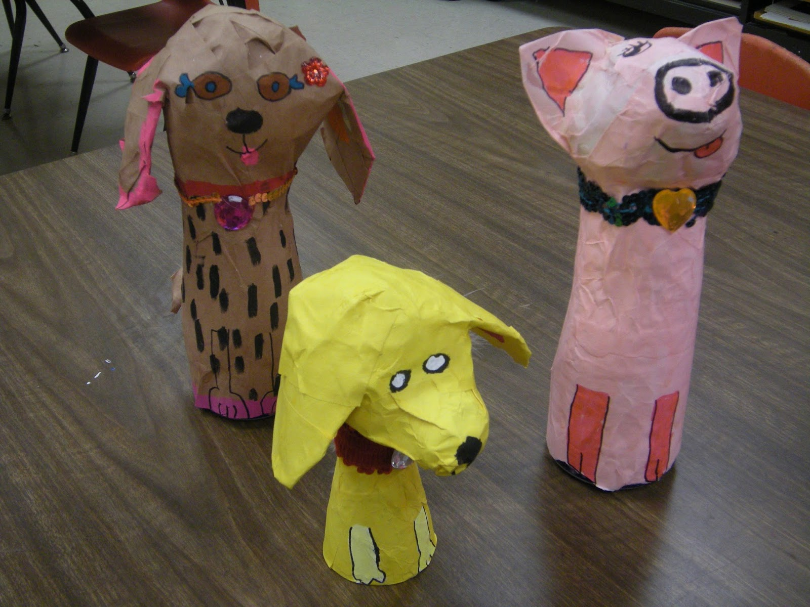 Artolazzi papier mache animals for Making paper mache animals