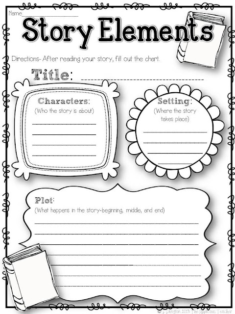 "Search Results for ""Story Elements Graphic Organizer"