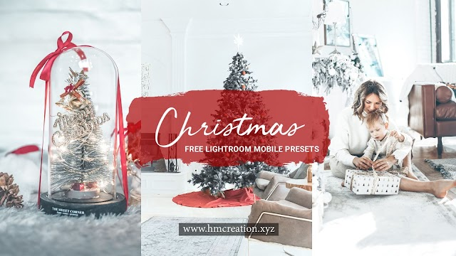 2 Christmas mobile Lightroom presets free download