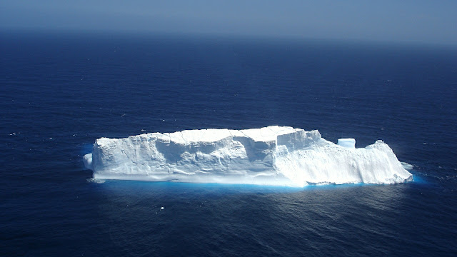 اختفاء 20٪ من الجليد في القارة القطبية الجنوبية في اقل من شهر