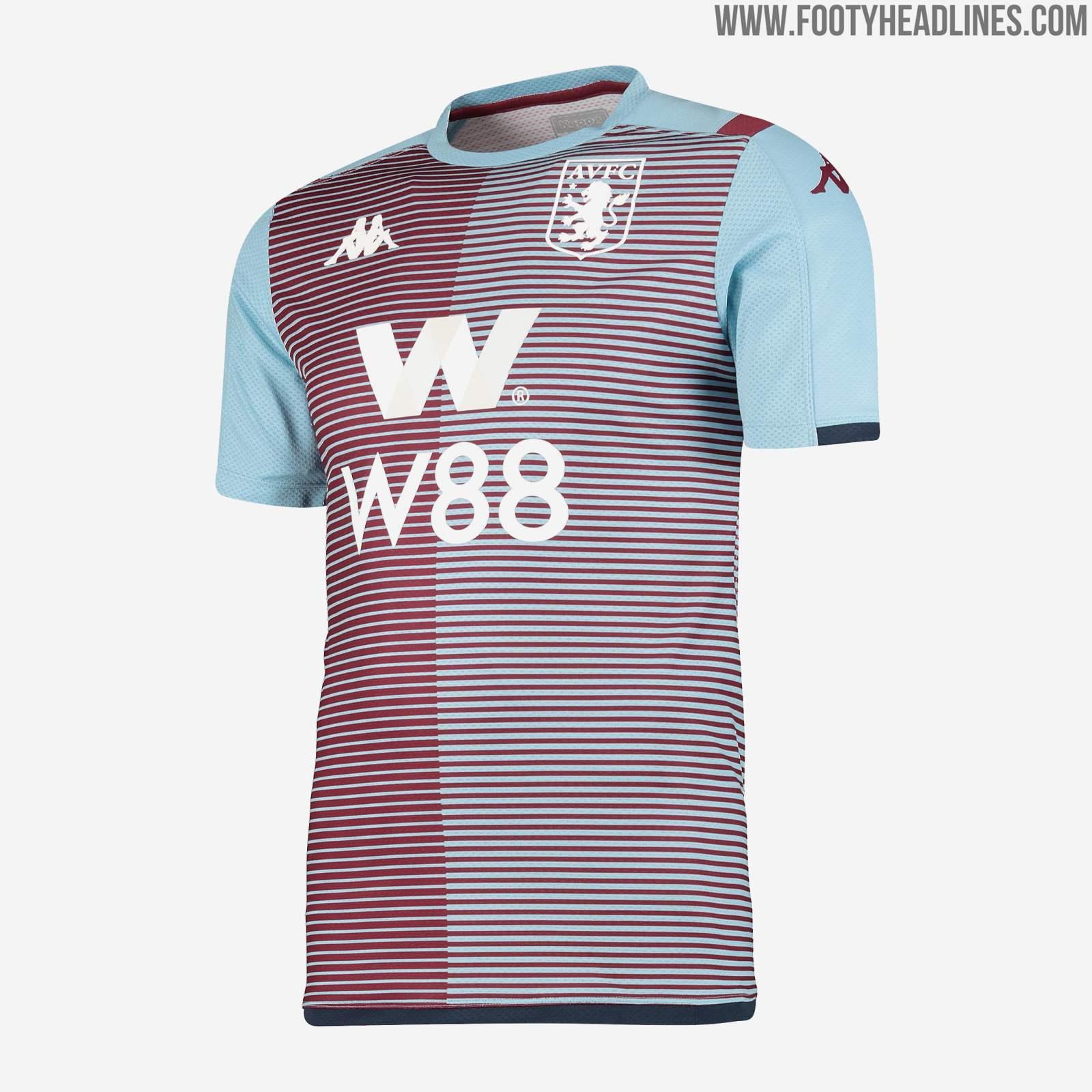 Kappa Aston Villa 19-20 Premier League Pre-Match ...