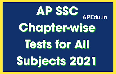 AP SSC Chapter-wise Slip Tests for All Subjects