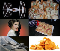 sandwich leia; star destroyer sandwich; TIE sandwich