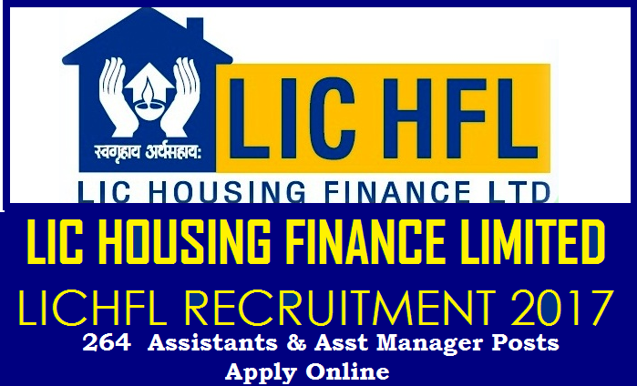 Lic Hfl Recruitment Notification 2017 For 264 Vacancies Ts Vidya