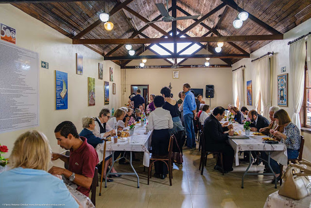 Christuskirche - Igreja de Cristo - almoço no centro comunitário