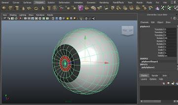 head modeling in maya, Animation Technical Stuff, eye ball model