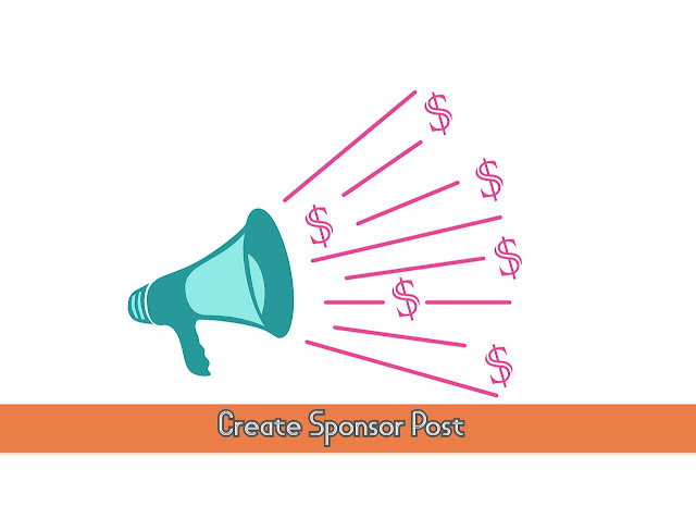 Create Sponsor Post by crackingcomputer.com