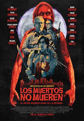 LOS MUERTOS NO MUEREN - Poster de la película en España