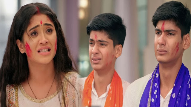 Big Mistake : Naira's shocking statement Luv Kush realize big mistake in YRKKH