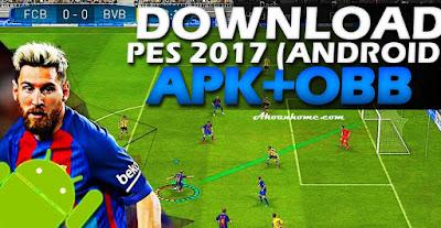 تحميل لعبة بيس 2017 للاندرويد برو إيفولوشن 2017 للأندرويد PES2017 Apk بحجم خفيف