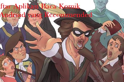 Daftar Aplikasi Baca Komik di Android yang Recommended