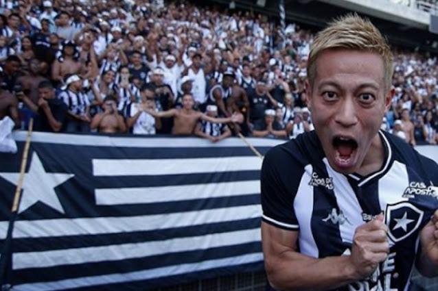 Honda é um dos destaques do Botafogo