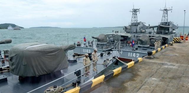 Saat Washington Curigai Hubungan Gelap Phnom Penh Dengan Beijing, Pasukan Kamboja Pun Hancurkan Fasilitas Pangkalan Laut AS