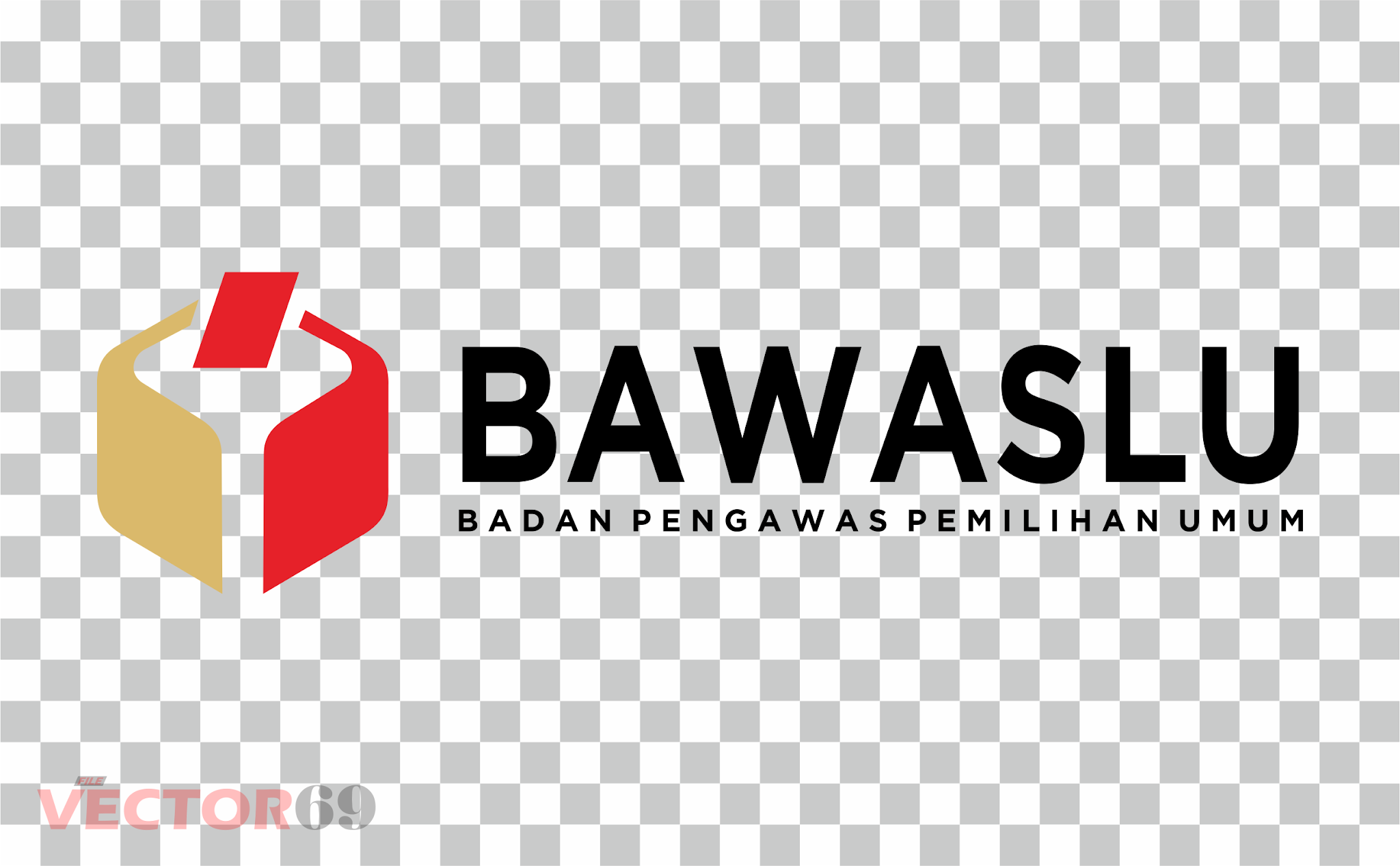 BAWASLU (Badan Pengawas Pemilihan Umum) Logo - Download Vector File PNG (Portable Network Graphics)