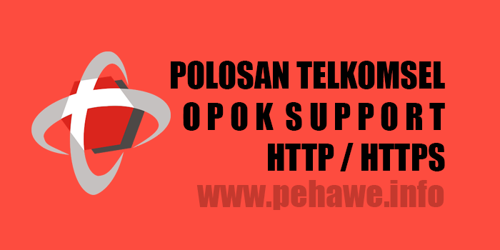 Trik Internet Gratis Polosan Telkomsel Opok (Support HTTPS)