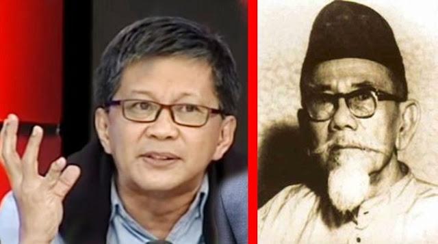 Rocky Gerung kagumi Haji Agus Salim 'Politik adalah Kecerdasan'