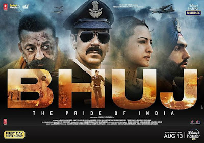 Bhuj the Pride of India film review: High on proverb shouting, Ajay Devgn movie almost obscures its real  champions