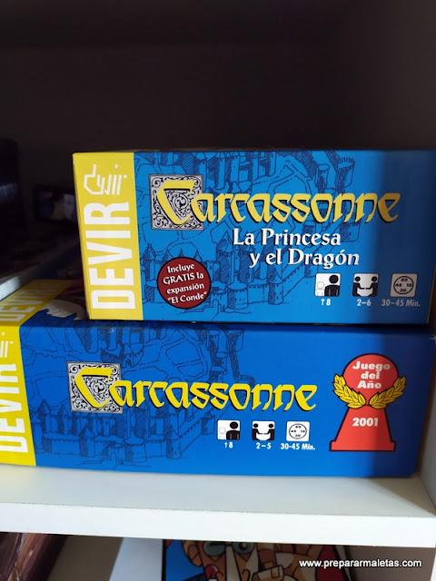 Uno de los mejores juegos de mesa, Carcassonne