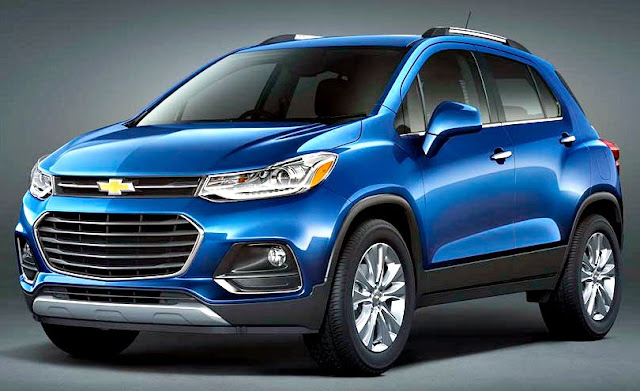 Chevrolet Tracker 2017 front blue