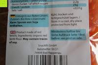 hinten: Linsennudeln BIO (1x250g) aus 100% Linsenmehl 250g mit 23% Protein vegan und glutenfrei von Five-Mills.de für Muskelwachstum und Muskelerhalt - Eiweißnudeln geeignet als Fleischersatz und Supplementersatz low fat