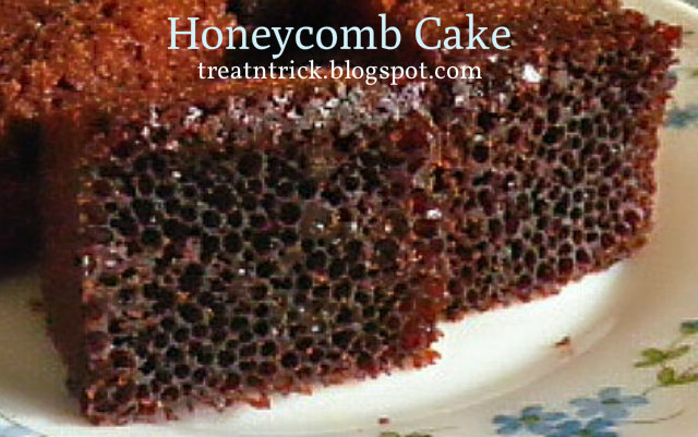 Honeycomb Cake Recipe @ http://treatntrick.blogspot.com
