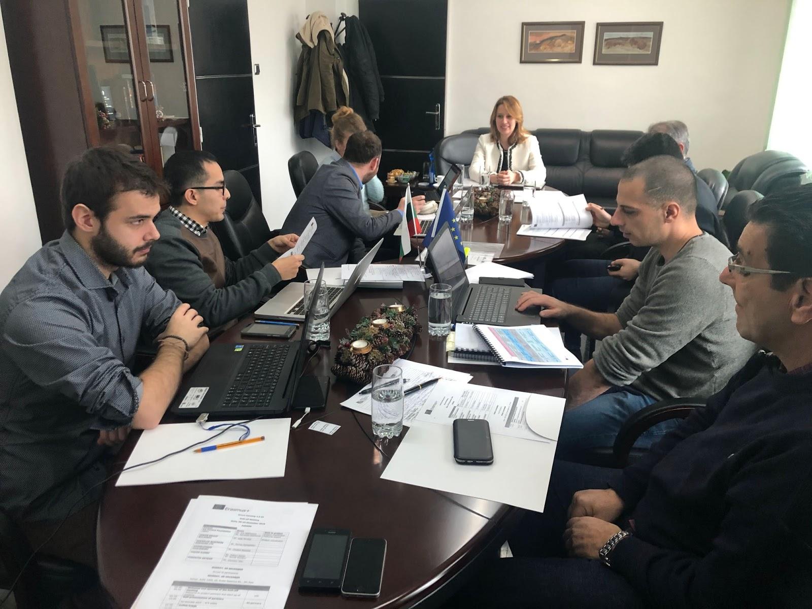 """Εναρκτήρια συνάντηση του Επιμελητηρίου Χαλκιδικής με τους εταίρους του , στο νέο ευρωπαϊκό πρόγραμμα που συμμετέχει με τίτλο """" Smart Farming 4.0 All """""""