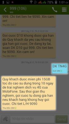 cách nhận 15GB miễn phí từ mobifone, cách nhận 15GB miễn phí, nhận gb miễn phí, viettel, mobifone, vinaphone