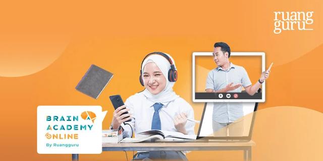 brain academy bimbingan belajar online