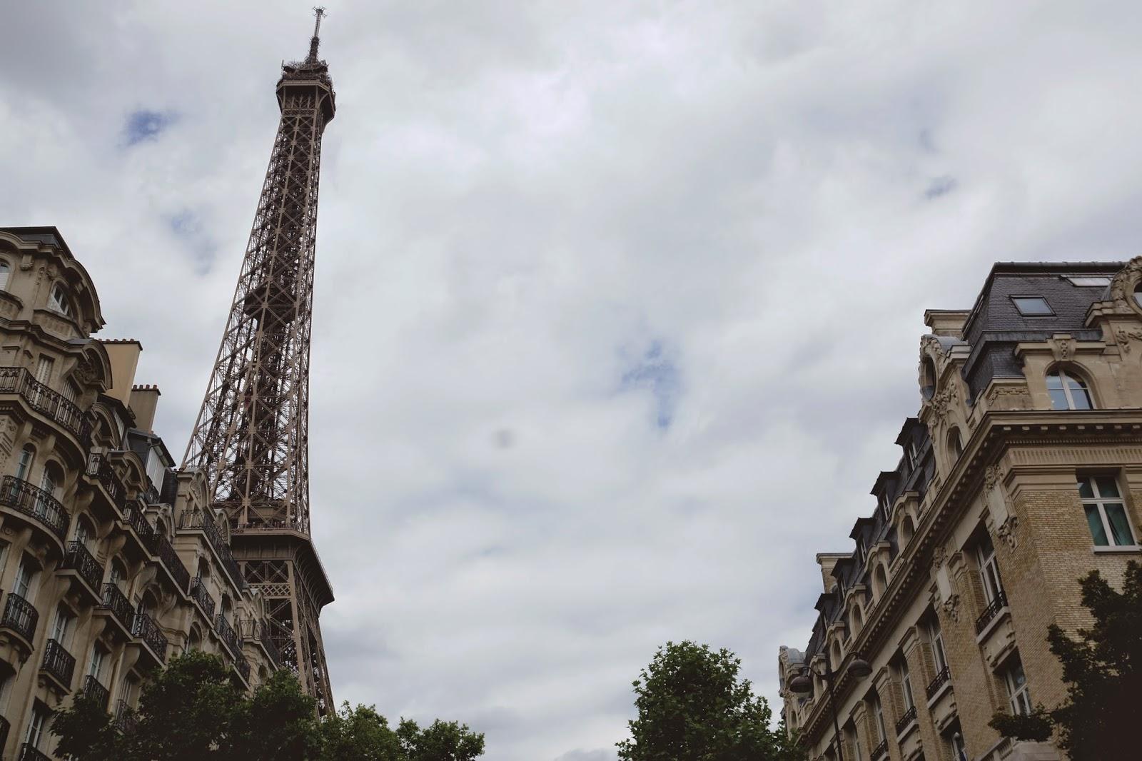 Hello Freckles Eiffel Tower Paris France