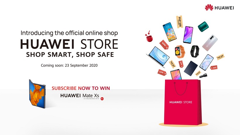 Huawei Store online perks, promos and bundles