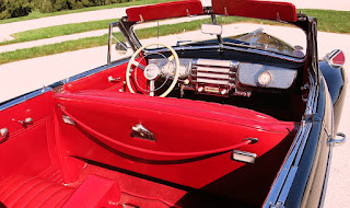 1941 Buick Super 51C Convertible Interior 04