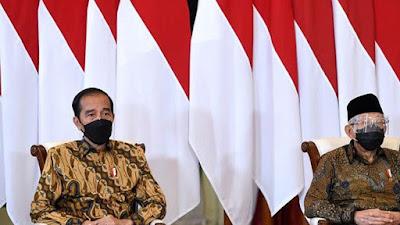 Survei Puspoll 71,4 Persen Masyarakat Puas Terhadap Kinerja Jokowi dan Ma'ruf Amin