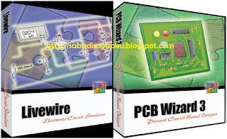 Download Software Desain PCB menggunakan Livewire PCB Wizard