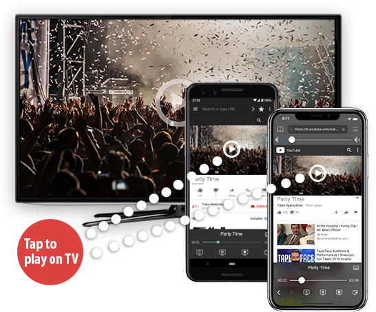 برامج, برامج اندرويد, برنامج عرض شاشة الاندرويد على التلفزيون, Android, Cast videos, smartphone, tubio تحميل, tubioapp, TV Cast, uptodown,