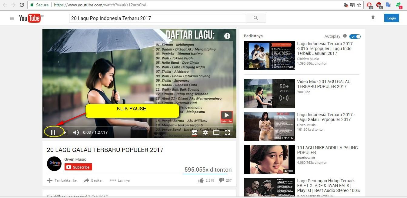 Blog Mang Nana: Cara download Lagu dari Youtube dengan Songr