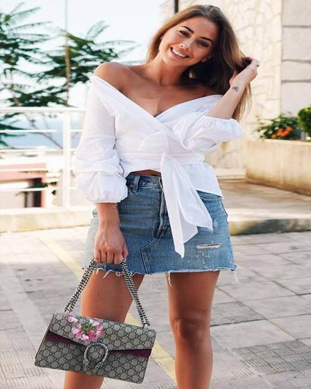 8545d6faf3 Outfits con FALDA de Jean casuales de moda tumblr que no conoces ...
