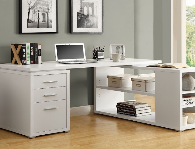 best buy white home office furniture UAE for sale