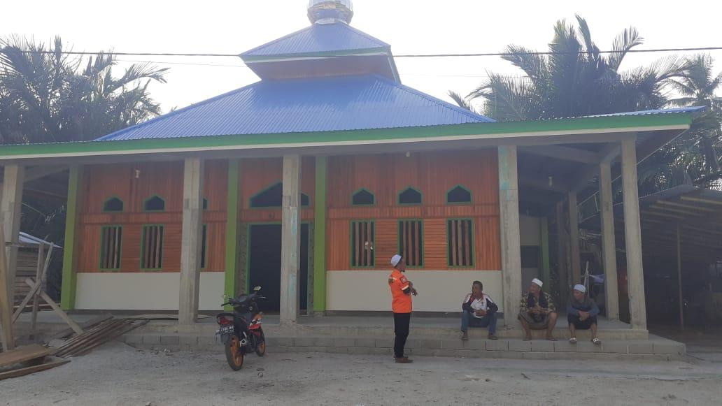 Pasca Gempa, WMI Bangun 3 Masjid Permanen di Sulawesi Tengah