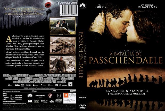 Capa DVD A Batalha de Passchendaele