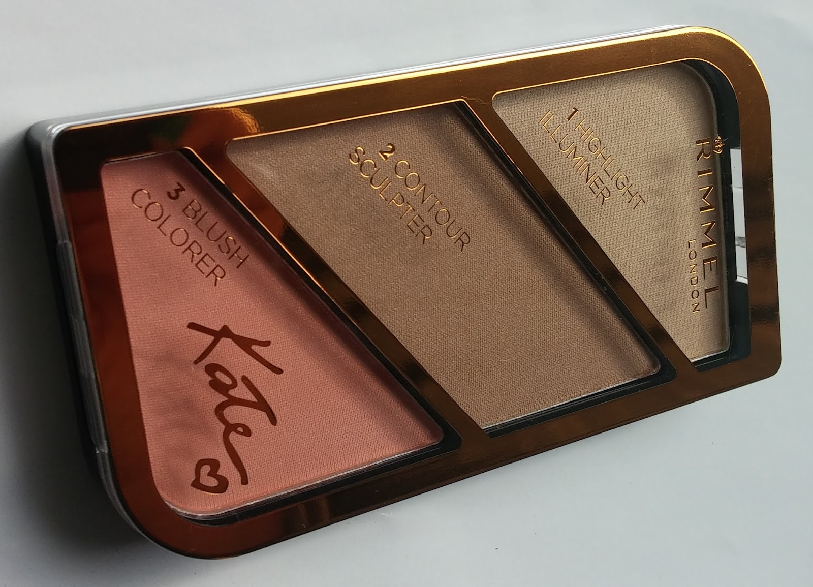 Rimmel Kate Sculpting Highlighting Kaleng 30 Liter Now That I Showed You W7 The Cheeky Trio Palette Will Show Kit In Coral Glow Designed By Moss Was Sent