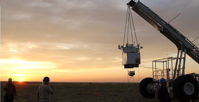 NASA's Balloon Program Office in partnership with the Louisiana Space Grant Consortium launched the High-Altitude Student Platform (HASP) payload at 7:47 a.m. MDT Monday, Sept. 7, from Fort Sumner, N.M. Credit: NASA