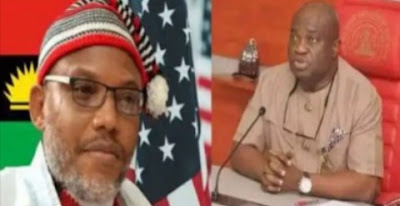 Nnamdi Kanu Replies Abia Governor, Ikpeazu, Over Threat To Appoint Another King  Of Ibeku