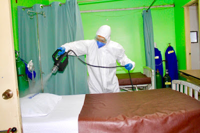 PLDT sponsors high-level decontamination services  to RITM and NKTI